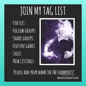 Accessories - I TAG FOR 🦄SHARING & CARING🦄 ONLY